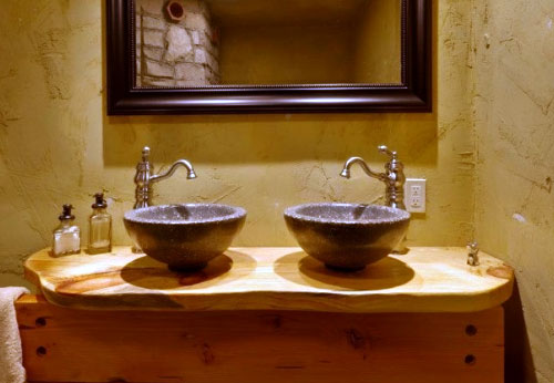 featured cast stone sink